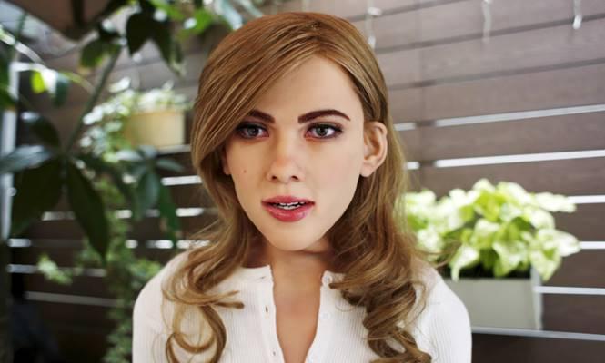 robot Scarlett Johansson