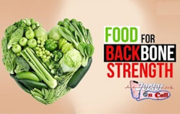 Food for backbone strength
