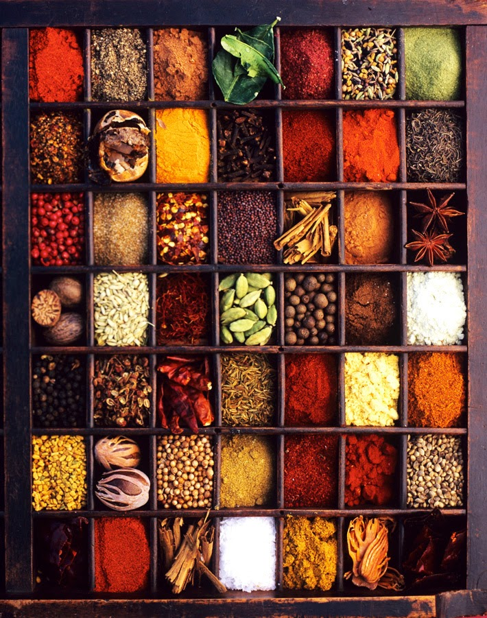 Storage of Spices