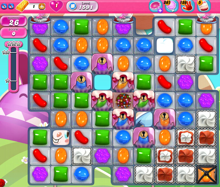 Candy Crush Saga 1591