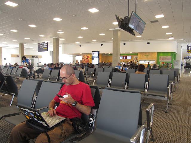 Do BRASIL para a RENÂNIA do Norte-VESTFÁLIA, voando de CONDOR, Alemanha: