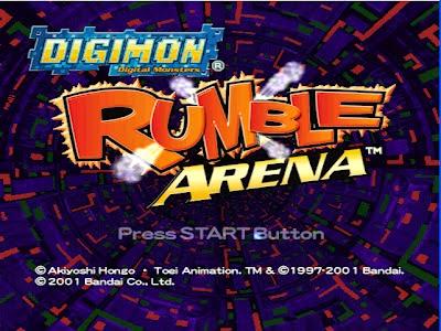 download game digimon rumble arena PS1 tanpa emulator - game lawas