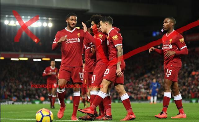 Prediksi Skor Liverpool vs Brighton & Hove Albion 13 Mei 2018 | Prediksi Skor Bola Akurat