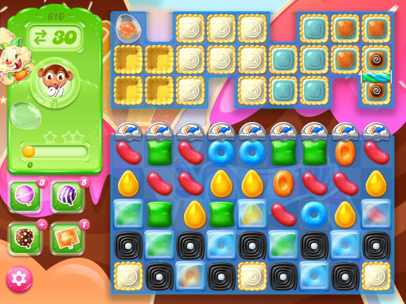 Candy Crush Jelly Saga level616