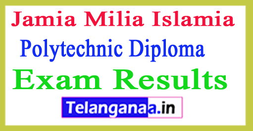 Jamia Polytechnic Diploma Engg Result 2018