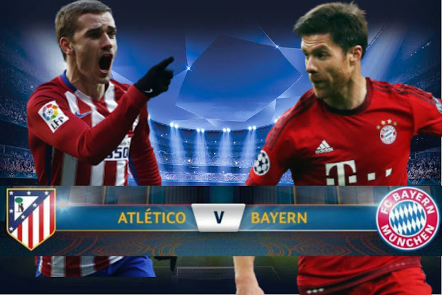Atlético de Madrid x Bayern de Munique (27/04/2016) - Champions League 2016 - Data, Horário e TV