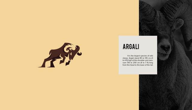 Diseñadores crean logos de animales en peligro de extinción para crear más conciencia