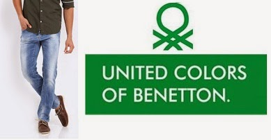 Flat 40% Off + Extra 25% Off on Men's United Colors of Benetton (UCB) Jeans @ Myntra (Hurry!! Limited time Offer)