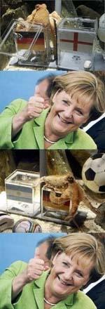 Witzige Bilder von Kanzler Merkel