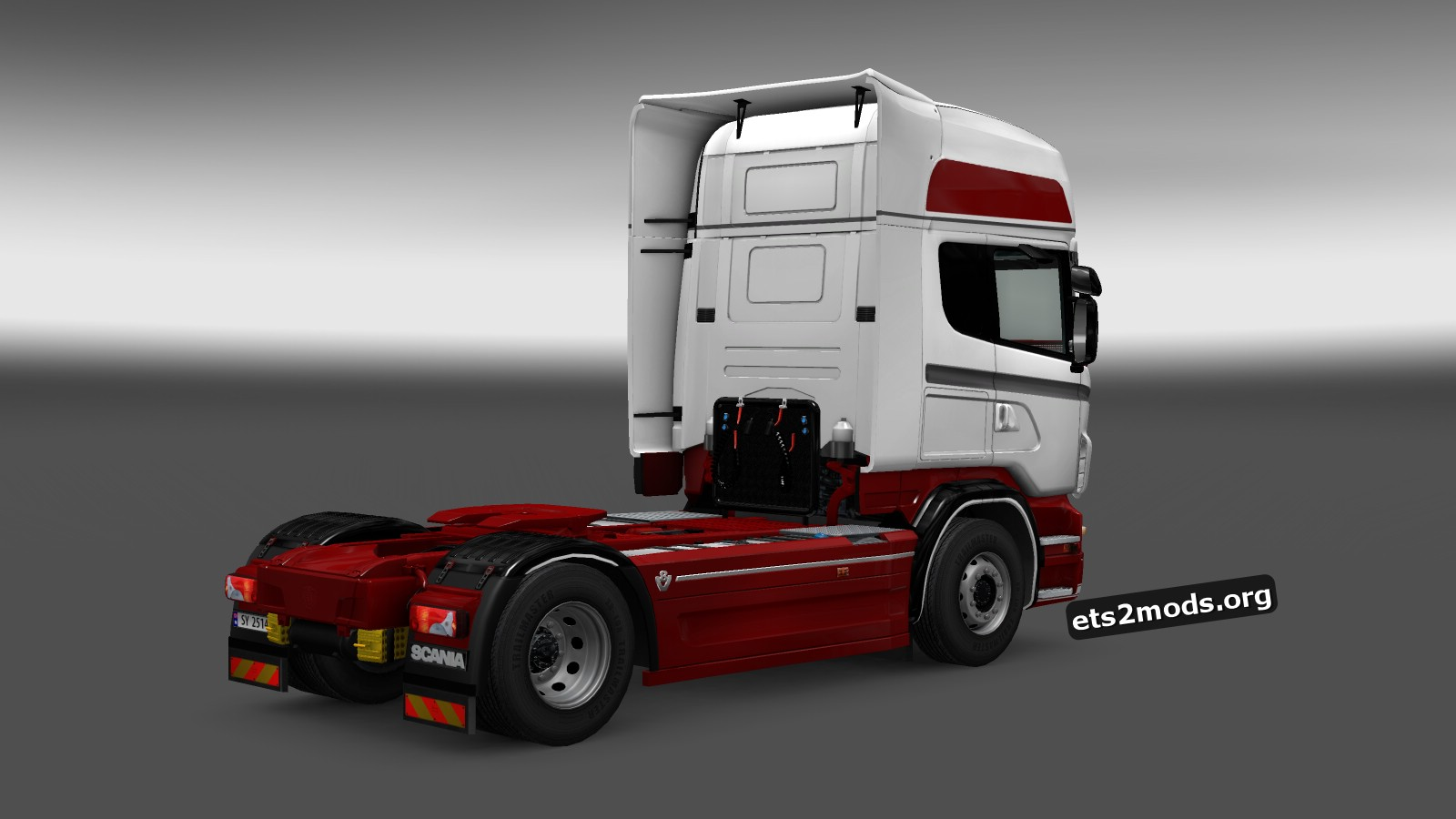 Scania RJL Dutch Lady Skin