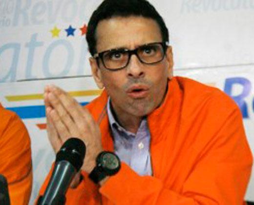 Capriles: Gobierno obliga a personal a excluir sus firmas