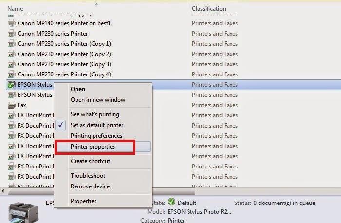 Cara Menghubungkan 1 Komputer/Laptop ke 2 Printer Lebih