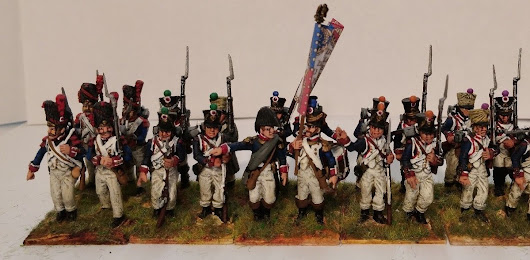 eBay Napoleonic French battalions for sale