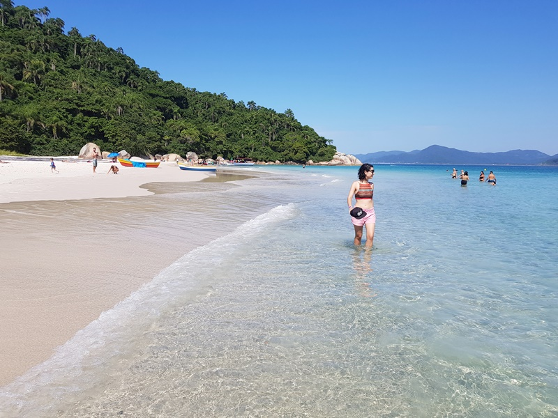 Passeio de Florianópolis a Ilha do Campeche