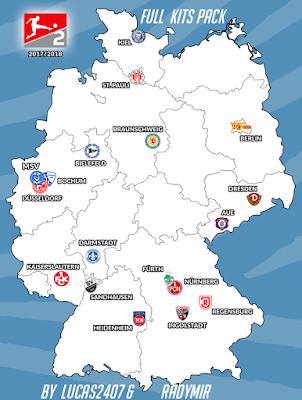 PES 2013 Kitpack 2.Bundesliga Season 2017/2018