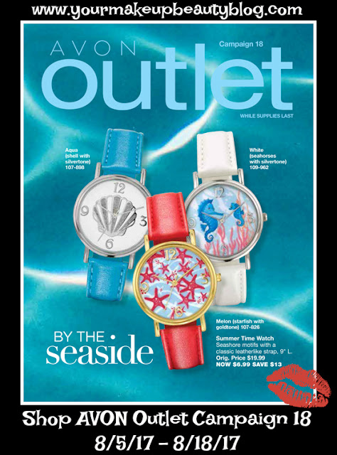 Click on your AVON eBrochure Outlet By The Seaside