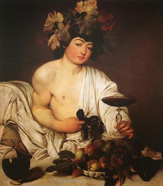 Bacchus (Dyonisus) Caravaggio