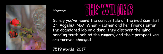 Banner Link for Gori Suture's horror short story The Wilting