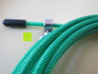 Seil: Speed-Rope »Rapido« / High-Speed Springseil / 360° Kugelgelenk mit verstellbarem Drahtseil / in vielen Farben erhältlich