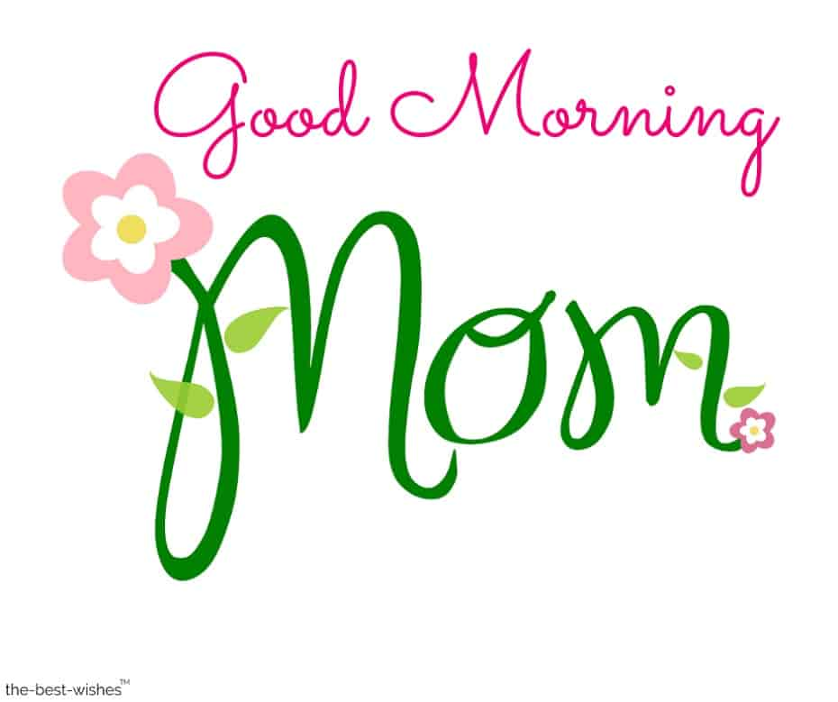 good morning mother wishes