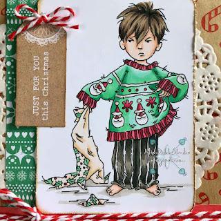Lili of the Valley Stroppy Boy Christmas Jumper