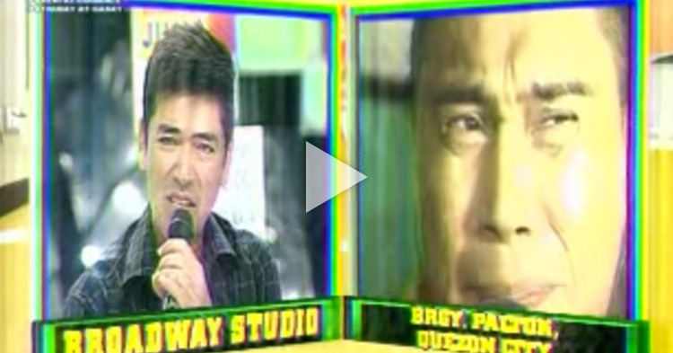 Jose Manalo accepted the dramatic acting challenge of the Dabarkads