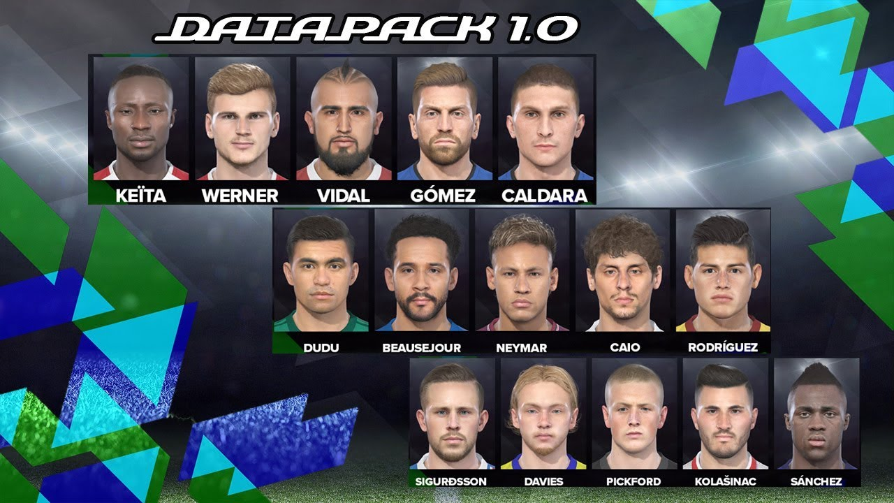 PES ANDRI: PES 2018 Data Pack 1 [ DLC 1 0 ]