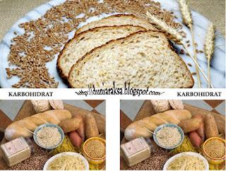 makanan dengan karbohidrat