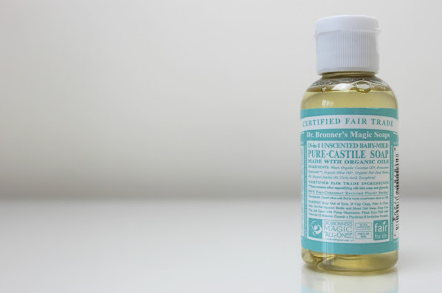 A picture of natural Dr Bronner Baby Mild Liquid Soap
