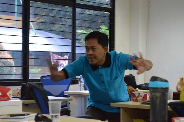 Pelatihan Mendongeng di Kampus UIN Jakarta