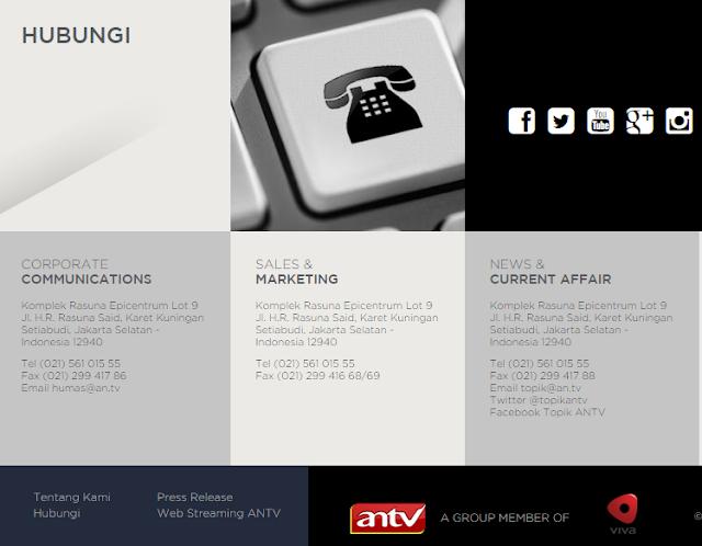 5 Lowongan Kerja ANTV Terbaru 2019