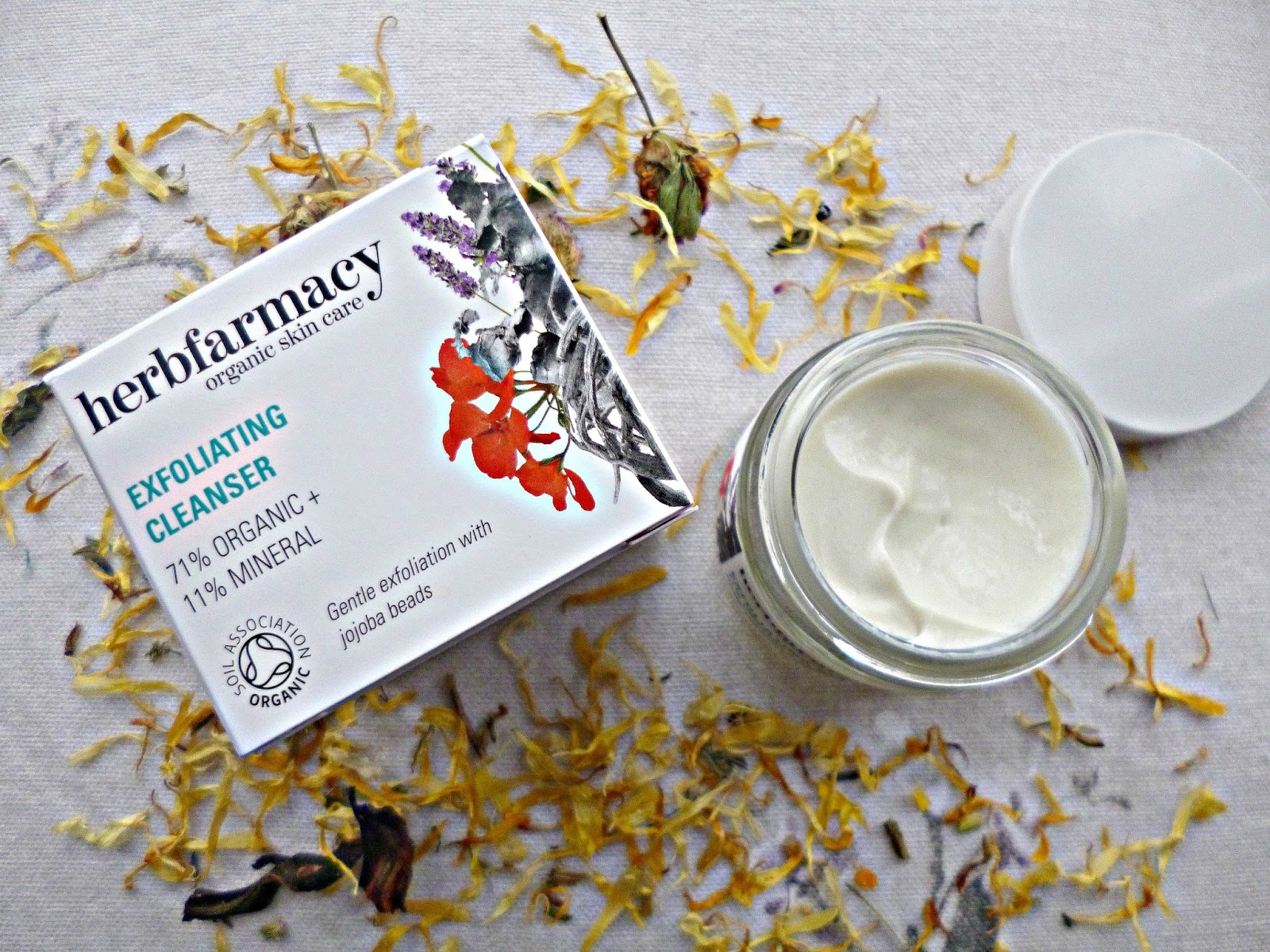 The quick fix: Herbfarmacy exfoliating cleanser review