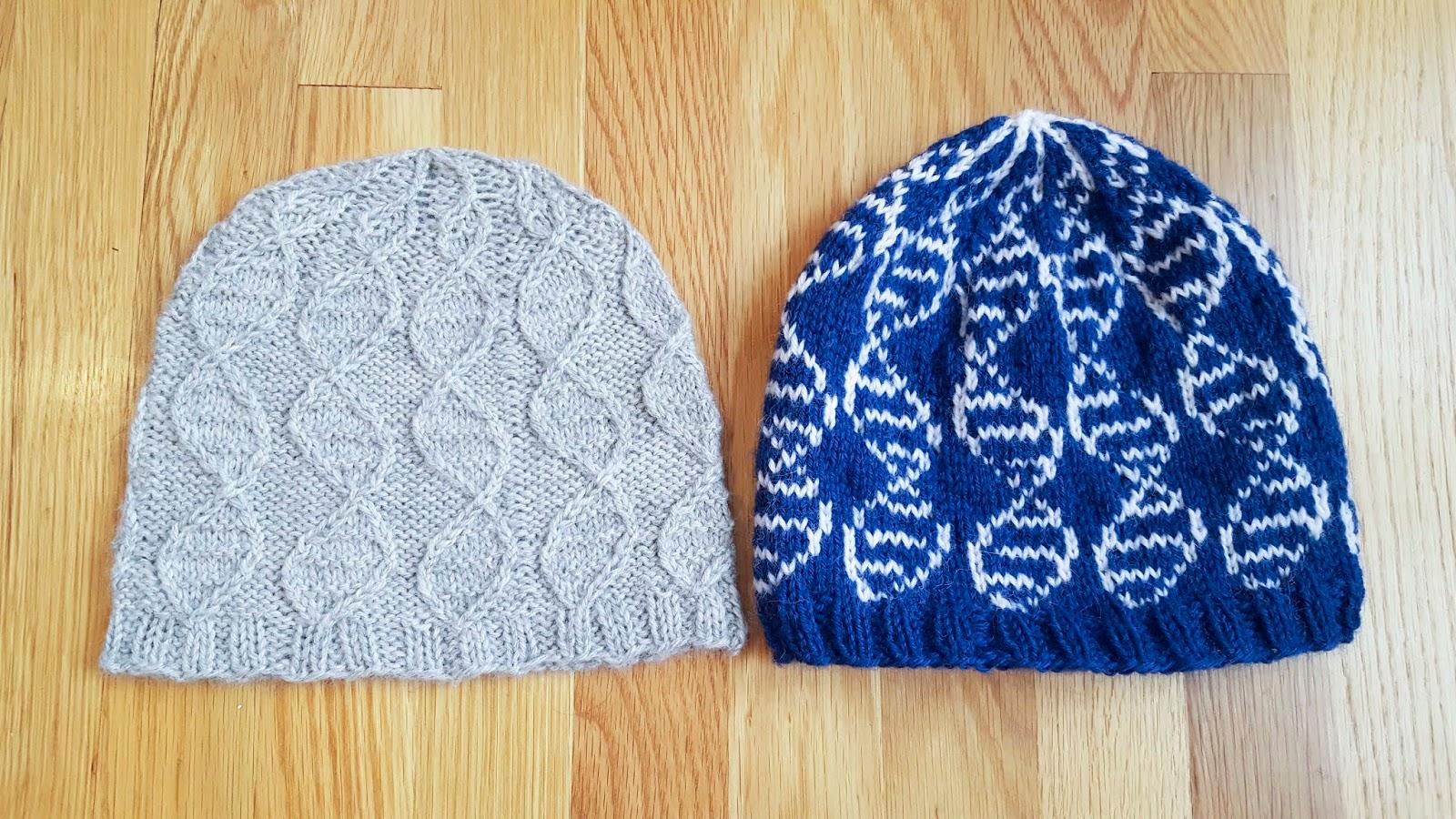 ChemKnits: GENEie Knitting Pattern - Colorwork Version