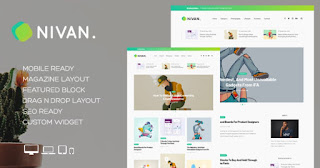 Nivan Blogger Template