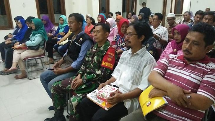 Dukung PEMILU 2019, BABINSA Kelurahan Kemlayan Hadiri Bimtek KPPS