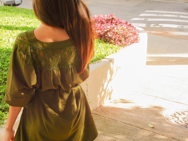 Look: Vestido com Renda