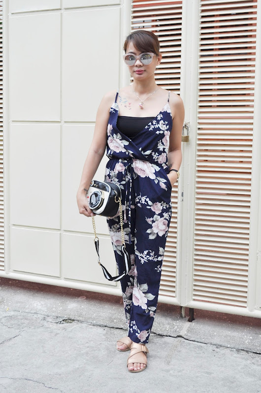 A Not So Secret Life: Floral Jumpsuit x Zaful Review