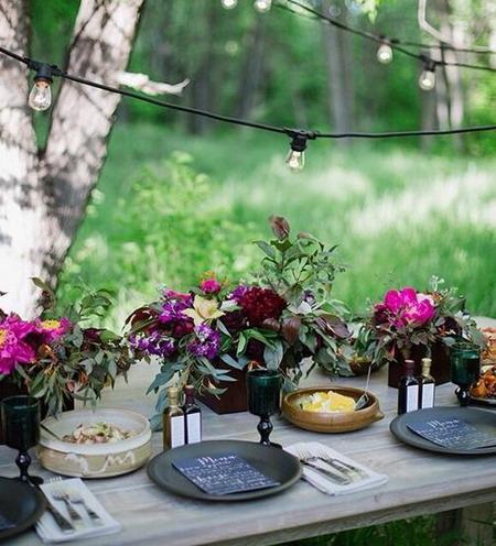 El jardin de los sue os mesas de verano - Mesas de verano ...