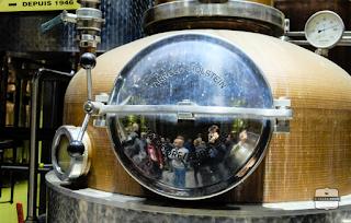 stookketel distillerie de biercée
