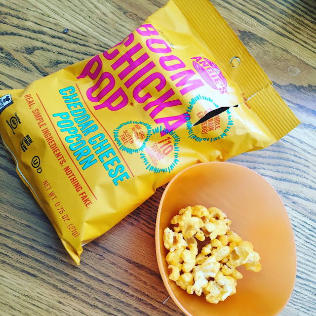 Angie's BOOMCHICKAPOP Cheddar Cheese Popcorn