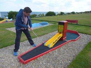 Bridlington Crazy Golf course