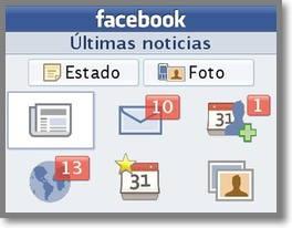 Screenshots of Facebook Messenger