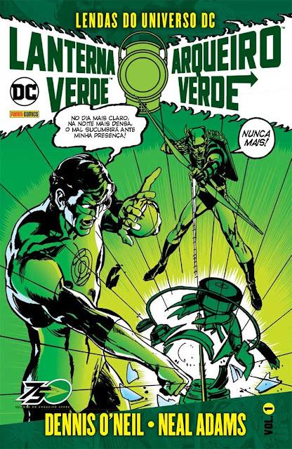 Grandes Clássicos DC Lanterna Verde e Arqueiro Verde