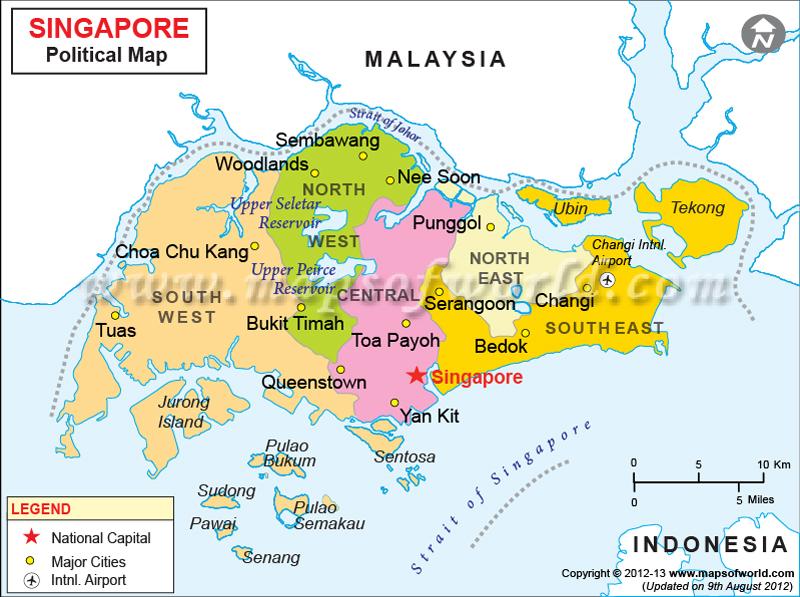 Malaysia Natural Resources Map