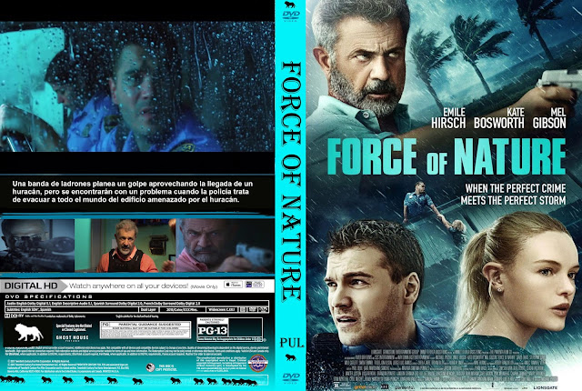 Force of Nature dvd cover 2020