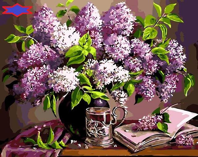 Tranh son dau so hoa o Kim Chung