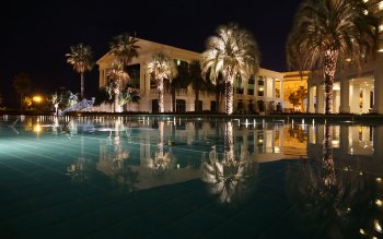 Wallpaper: Resort. Pool. Hotel Balneario Las Arenas