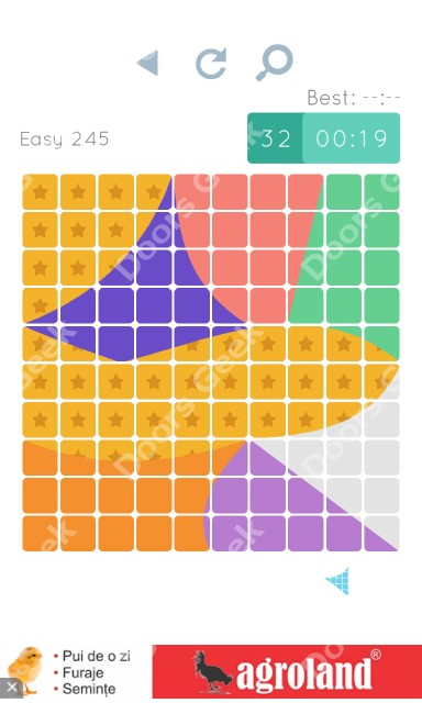 Cheats, Walkthrough for Blocks and Shapes Level 245