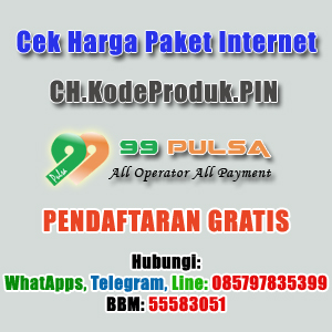 Daftar Harga Paket Internet 99 Pulsa