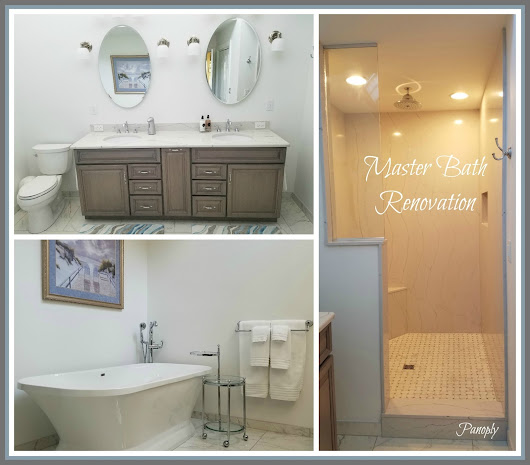 From Blah to Spa: Master Bath Reveal